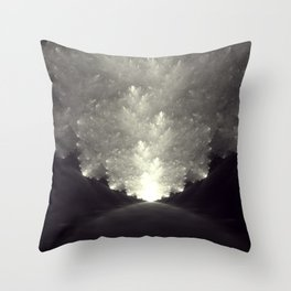The Obvious Road Throw Pillow