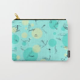 Surf Crazy Pattern Design Carry-All Pouch