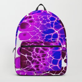 Toxic: acrylic pour psychedelic artwork trippy design Backpack