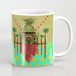 pineapple architecture 2 Coffee Mug