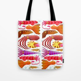 Cephalopods Tote Bag