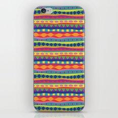 Stripey-Crayon Colors iPhone & iPod Skin