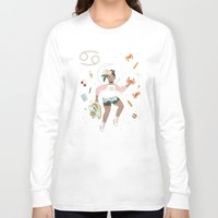 cancer Long Sleeve T-shirts featuring Cancer by LordofMasks