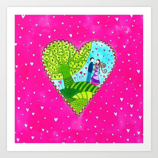 Love#10 Art Print