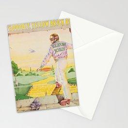 John - Goodbye Yellow Brick Road by Elton Stationery Cards