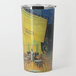 Vincent van Gogh - Cafe Terrace at Night Travel Mug