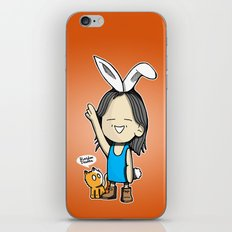 Just Be. iPhone & iPod Skin