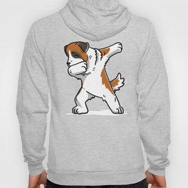 Funny Dabbing Saint Bernard Dog Dab Dance Hoody