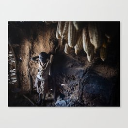 She Was Born After the Harvest  Canvas Print