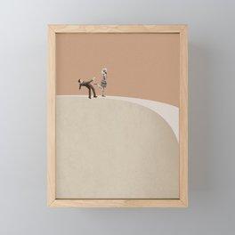 Get lost Framed Mini Art Print