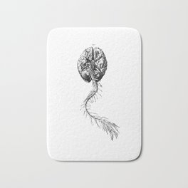Brain Anatomy Bath Mat