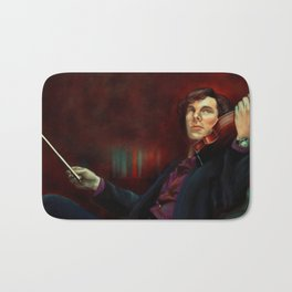 Sherlock: The Violin Bath Mat