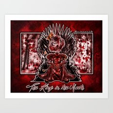 The King in the North Art Print