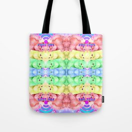 CATS KITTENS WIFI Tote Bag