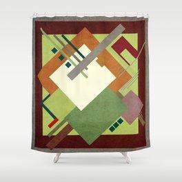 Geometric illustration 35 Shower Curtain
