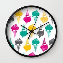 Gelati! Gelati! Gelati! Wall Clock