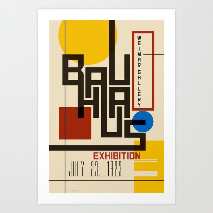 Bauhaus Poster I Kunstdrucke