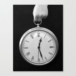 Holding Time Canvas Print