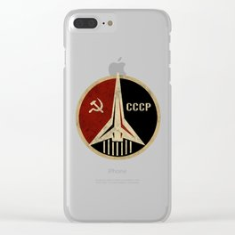 USSR Clear iPhone Case