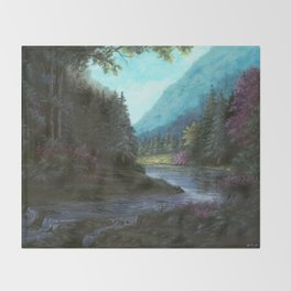 Mountain Valley Throw Blanket