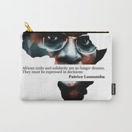 African Leader - Patrice Lumumba Carry-All Pouch