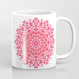 Mandala 12 / 5 eden spirit ruby red Coffee Mug