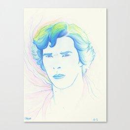 Rainbow Sherlock Canvas Print
