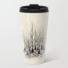 Pyramidal Neuron Forest Travel Mug