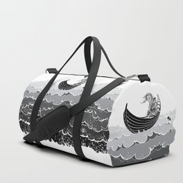 Death At Sea Duffle Bag