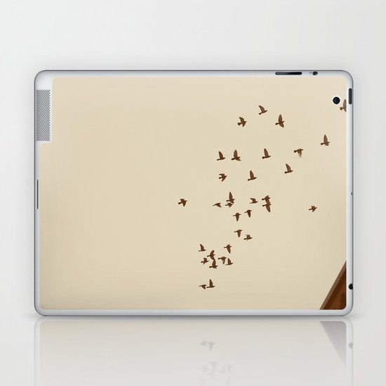 Flying Home Laptop & iPad Skin