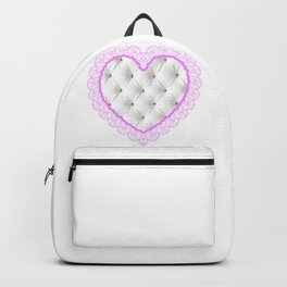 chesterfield heart Backpack