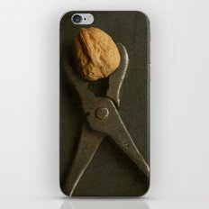 Walnut and Vintage Wrench iPhone & iPod Skin
