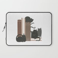 CATS + BOOKS Laptop Sleeve