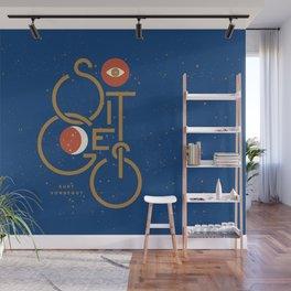 """""""So It Goes"""" — Kurt Vonnegut Wall Mural"""