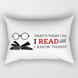 That's What I Do Rectangular Pillow