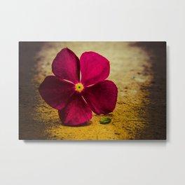 i send you a flower Metal Print