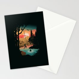 Swing Away Stationery Cards