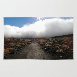 Tongariro Landscape, New Zealand Rug