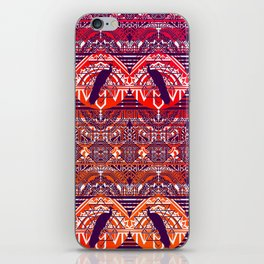 Peacock Patterm iPhone Skin