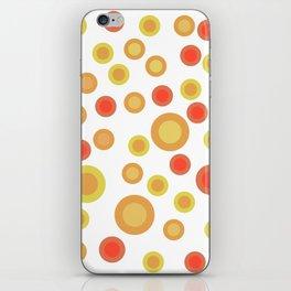 Circular Warm Texture iPhone Skin