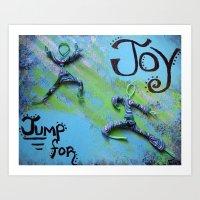 Jump for Joy Art Print