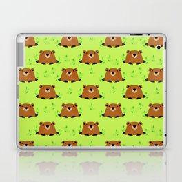 Adorable Groundhog Pattern Laptop & iPad Skin
