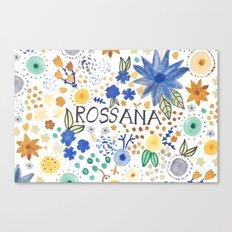 Rossana Canvas Print