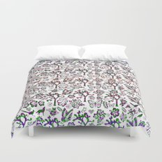 Joshua Tree Summer by CREYES Duvet Cover
