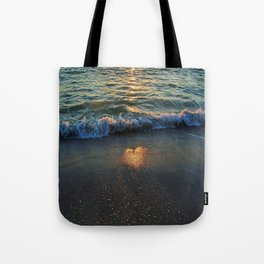 Yes, the Ocean Knows Tote Bag