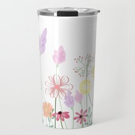Flowers,plants art Travel Mug