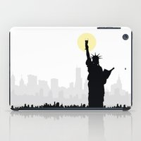 drunk iPad Cases featuring Drunk Liberty by HenryWine