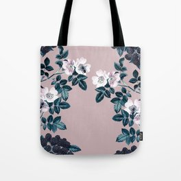 Wild Bee Blackberry Tote Bag