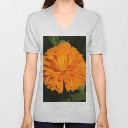 dew on orange Unisex V-Neck