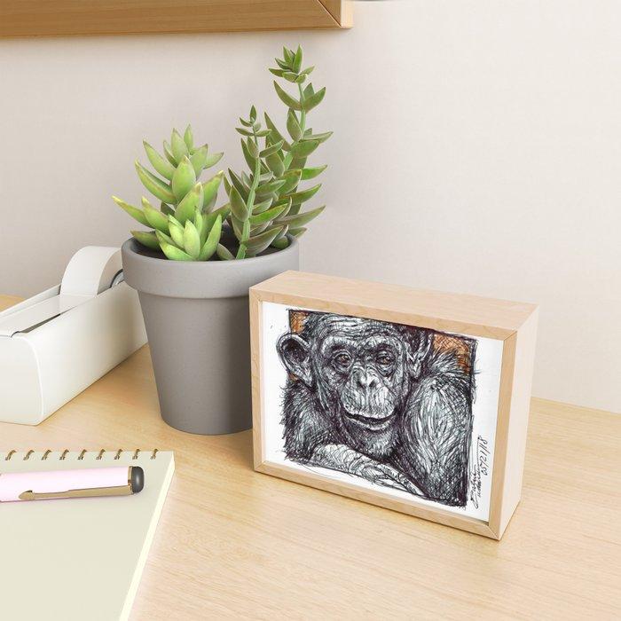 Bonobo Framed Mini Art Print
